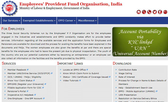 Link Multiple EPF Accounts With UAN